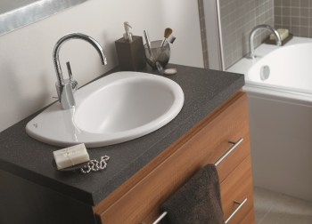 Ideal Standard bathroom unit with draws and basin