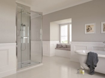 Spectra SP350 Shower Enclosure 900mm x 900mm