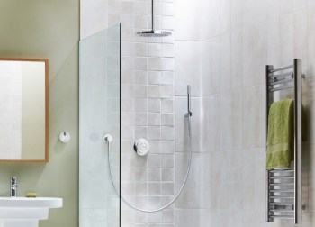 Aqualisa Rise Ceiling Mounted Shower and Handset